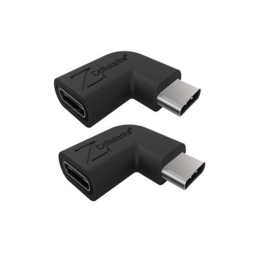 right angle usb c adapter